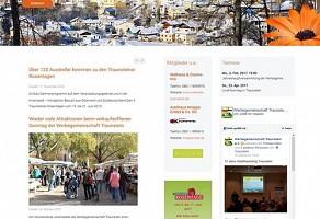 Internetauftritt: Werbegemeinschaft Traunstein