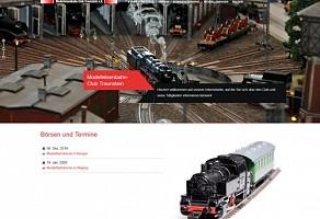 Internetauftritt: Modelleisenbahnclub Traunstein